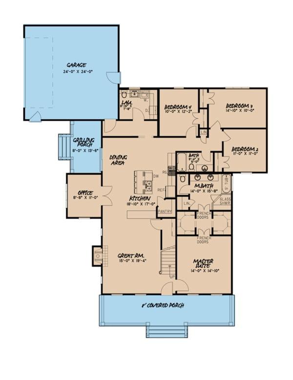 floor plan nigeria house