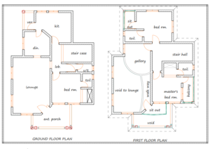 floor plan Nigeria