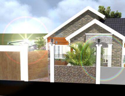 churche house plan