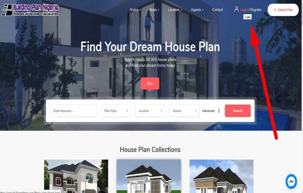 house plan home page