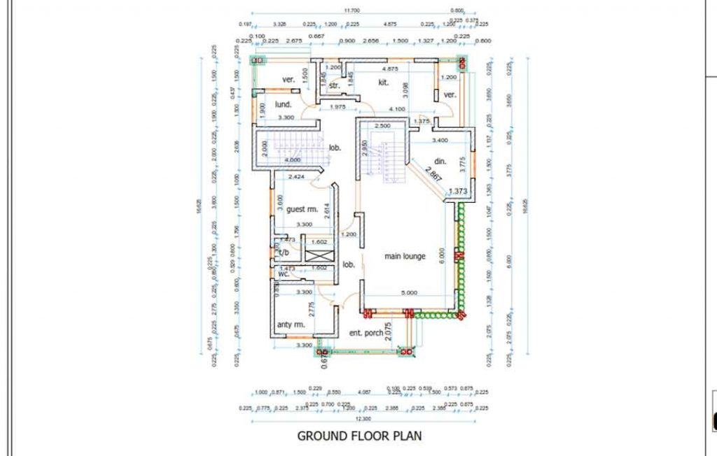 house plan drawing floor plan
