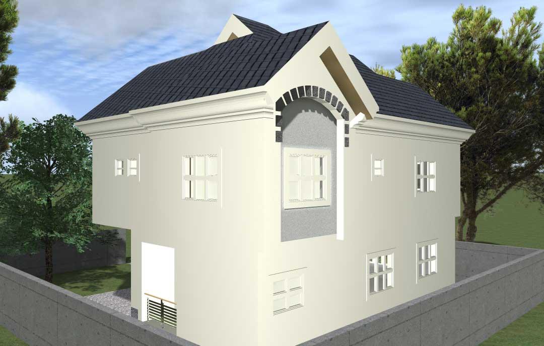 4 Bedroom Mini Duplex Nigeria House Plans Market