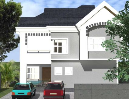 1 bedroom duplex house plan