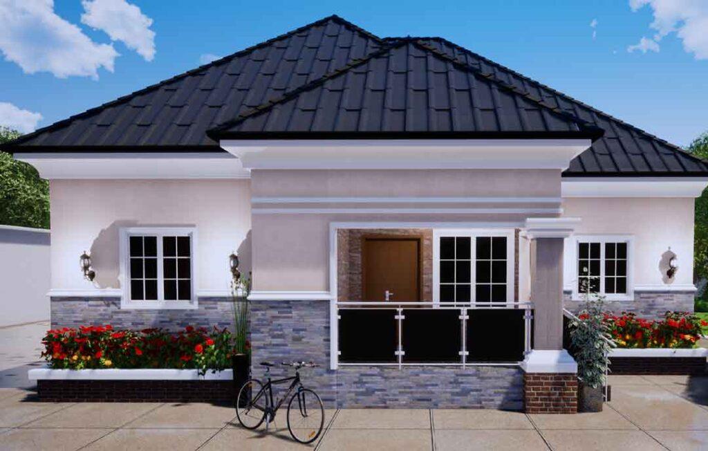 nigerian house plan 4 bedroom